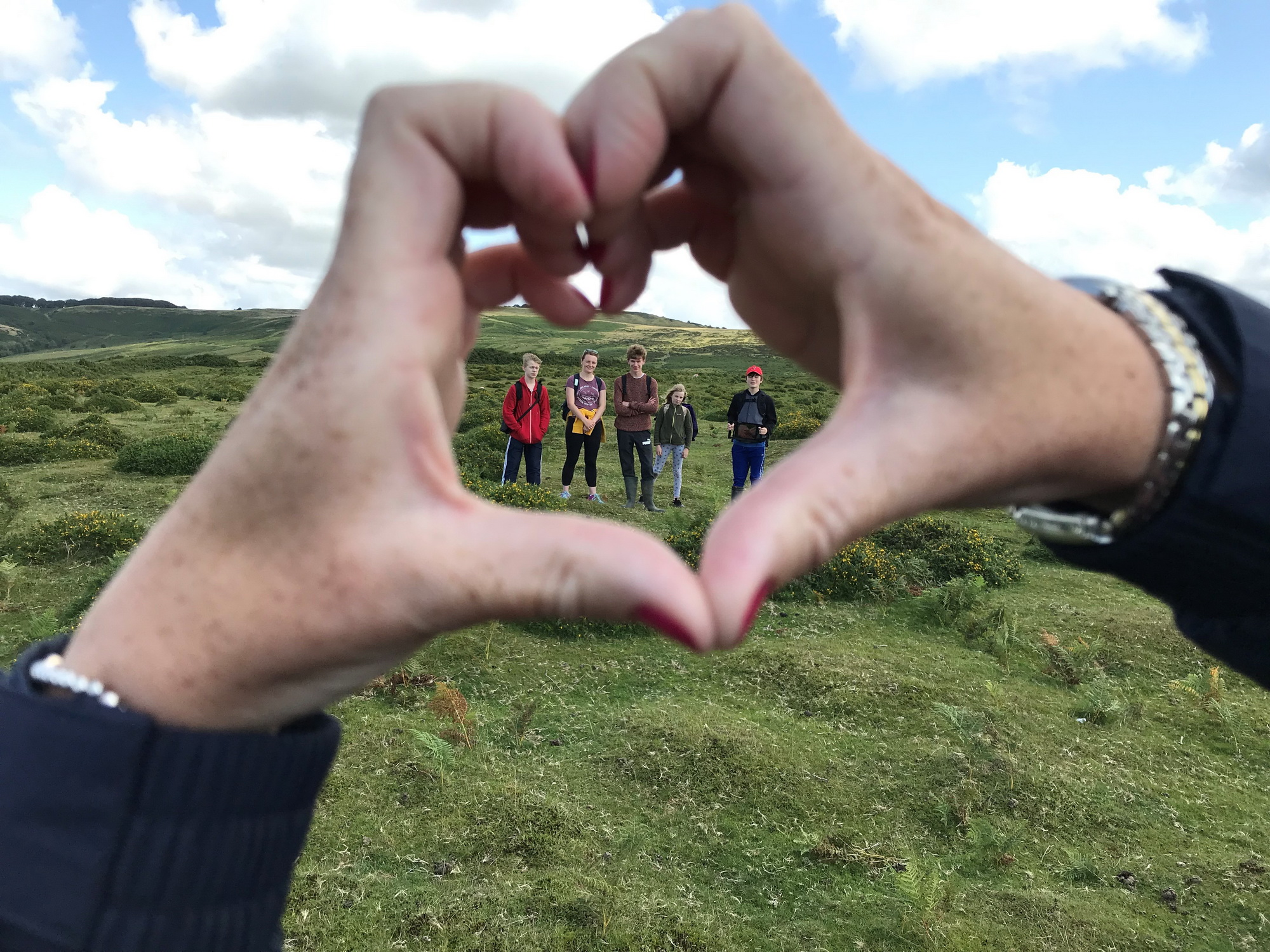 Hearts are being formed across the country in our most loved landscapes