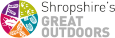 Shropshire's great Outdoors logo