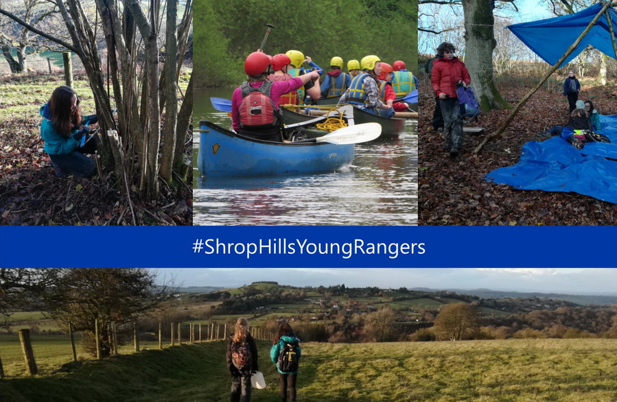 Shropshire Hills Young Rangers series of photographs